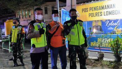Photo of Personel Gabungan Kodim dan Polres Loteng Lakukan Penyekatan di Malam Takbiran